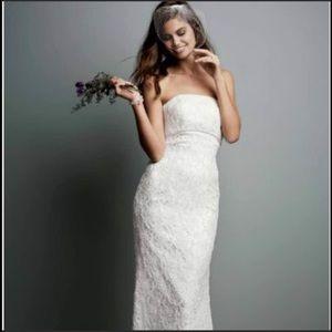 Galina sheath wedding dress